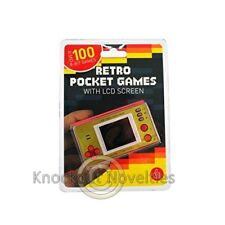 Retro Pocket Games with LCD screen Fun Hand Held Handheld Battery Game Play