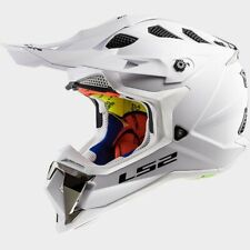 LS2 Subverter MX470 Solid MX Offroad Helmet White