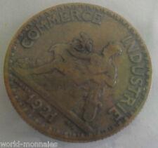 50 centimes chambre des commerce 1921 : B : pièce de monnaie française