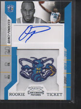 QUINCY PONDEXTER 2010-11 PANIN CONTENDERS PATCHES ROOKIE CARD AUTO #125