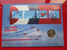 2018 Red Arrows RAF Centenary Badge £2 pound Coin Stamp and Coin Cover