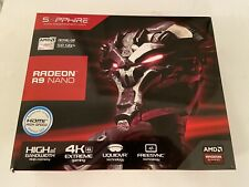 Boxed Sapphire AMD R9 Nano 4GB HBM GPU mini ITX PCI-e HDMI Graphics Card