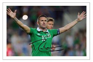 ROBBIE KEANE Signed Autograph PHOTO Fan Signature Gift Print IRELAND Soccer