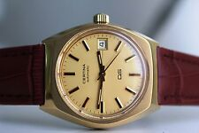 CERTINA DS Automatic 20M Gold *NOS, 1976/1977*