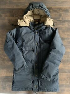 Vintage Eddie Bauer Jacket Premium Goose Down Puffer Parka Coat Men's Medium