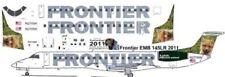 Frontier (Chautauqua) Ginger  Embraer ERJ 145 decals for Welsh 1/144 kits