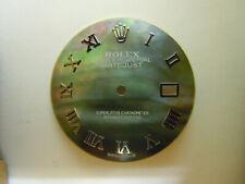 Black Tahiti MOP Dial for Rolex Datejust 36MM Quickset Cal 3035, 3135