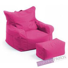rose Budget Pouf poire chaise + ECHELLE Tabouret Gamer Jeu fauteuil jardin