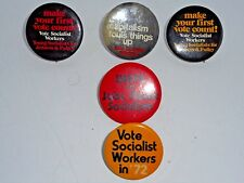 Vote Socialist Workers Unite for Jobs Peace Socialism Jenness and Pulley 1972