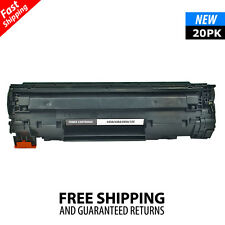 20PK CB435A Black Toner Cartridge For HP 35A Laserjet P1005 P1006 P1003 Printer