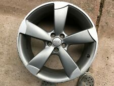 "Genuine OEM Audi A1 S1 18"" BLACK EDITION Rotore di Ricambio Ruota in Lega 8X0601025M"