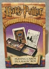 HARRY POTTER PLAYING CARD IN A MAGIC BOX POKER CARDS NEW VINTAGE MAGIC TRICK