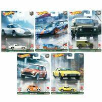 2021 Hot Wheels British Horse Power Set of 5 Cars Car Culture 1/64 Diecast Cars