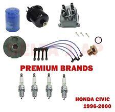 1996-2000 Honda Civic CX DX LX EX 1.6L Tune Up Kit (NGK V-Power Plugs) #2