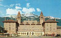 Postcard Antlers Hotel Colorado Springs Colorado