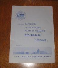 * catalogue pieces detachées ciclomotori DICK DICK  DEMM 1965 en italien