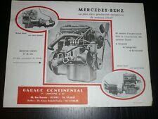 Publicité d'époque moteur Mercedes- Benz OM 636