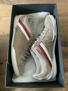 Dior Homme Mens Timeless Beige Suede Leather Trainers / Shoes Size 9/43 RRP £550