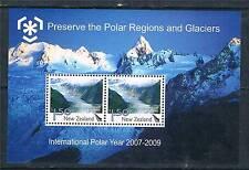 New Zealand 2009 International Polar Year MS SG 3130 MNH