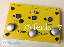 Lehle D-Loop SGoS LOOPER ES5 Switcher Gold Relays BUFFER BOOST TS/TRS MS3 GERMAN