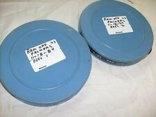 2 lot 1984 Vintage Projector Film, Football - 16mm reel - Rams vs Packers