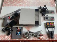Nes Console Bundle With Super Mario/ Duck Hunt,Zapper Gun, Game Genie