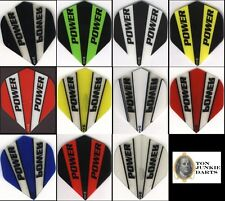 """The 6 PACK OF HD POWER"" Standard Dart Flights: 150 MICRONS THICK: 6 sets"