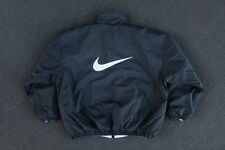 Vintage 90s Nike Big Logo Reversible Jacket Size L Quilted Swoosh XL Ying Yang