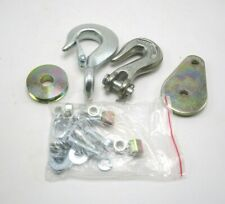 Boat Trailer Winch Cable Hook And Pulley Repair Replacement Kit New
