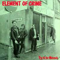 """Element Of Crime - Try to be Mensch, 12"""" Vinyl Lp., New"""