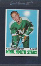 1970/71 Topps #046 Bill Goldsworthy North Stars EX *27