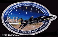 "ORIGINAL - X 15 - COMMEMORATIVE 6"" ARMSTRONG ENGLE KNIGHT USAF NASA SPACE PATCH"