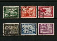 (YYAG 003) Germany 1941 USED Reich Mich 806 - 09 Sc B148 -158A