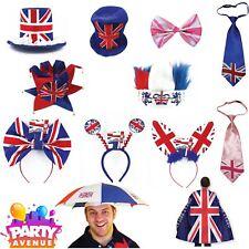 Union Jack Royal Wedding Celebration GB Tea Party Dress Up Prince Harry Meghan