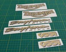 TRIUMPH daytona triple 955i Replacement Graphics Set Décalques Stickers