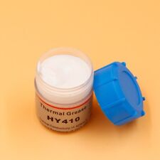 White 20g Silicone Compound Thermal Grease Paste For CPU GPU LED SCR VGA Cooling