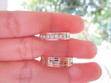 .21 CTW Diamond Wedding Ring 14k Twotone Gold WR03 sep (MTO)