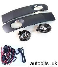 VW T5 2009+  FACELIFT FOG LIGHTS LIGHT LAMPS & GRILLES + WIRING KIT