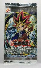 Yu-Gi-Oh! Metal Raiders MRD Promotional Sample Booster Pack Brand New Sealed