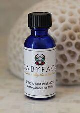 Babyface 30% BHA SALICYLIC ACID Acne Blackhead Removal Chemical Peel, Unbuffered