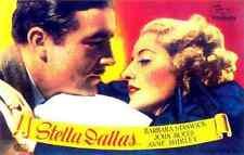 Film Stella Dallas 02 A2 Box Canvas Print