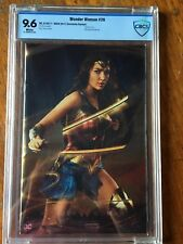 Wonder Woman 26 SDCC Foil Gal Gadot SDCC Variant limited to 1000 copies CBCS 9.6