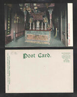 190x CHICAGO ILL CHINESE JOSS HOUSE UDB UNDIVIDED BACK POSTCARD