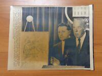 Vtg Wire Press Photo Libya Bombing George Shultz Caspar Weinberger White House