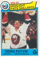 1983-84 O-Pee-Chee Hockey Cards 1-250 Pick From List