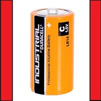 2 x Duracell C Size Industrial Procell Alkaline Batteries (LR14 MN1400 BABY)