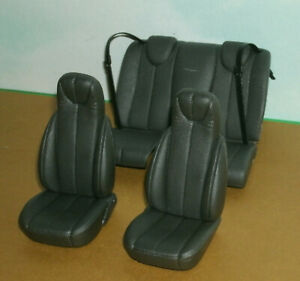 1/18 Scale Chrysler Pronto Cruiser Car Seat Set (3) Plastic Front & Back Seats