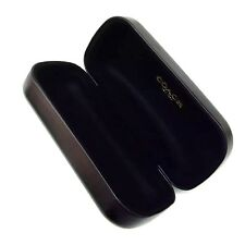 Coach Original Black SUNGLASSES EYEGLASSES CASE Hard  CLAMSHELL Size S