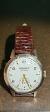 Vintage Movado Watch Gold Bezel, Bumper Automatic,