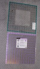 "OmniCraft 12 1/2"" Square Up Ruler and June Tailor 12 1/2"" Get Squared Ruler"